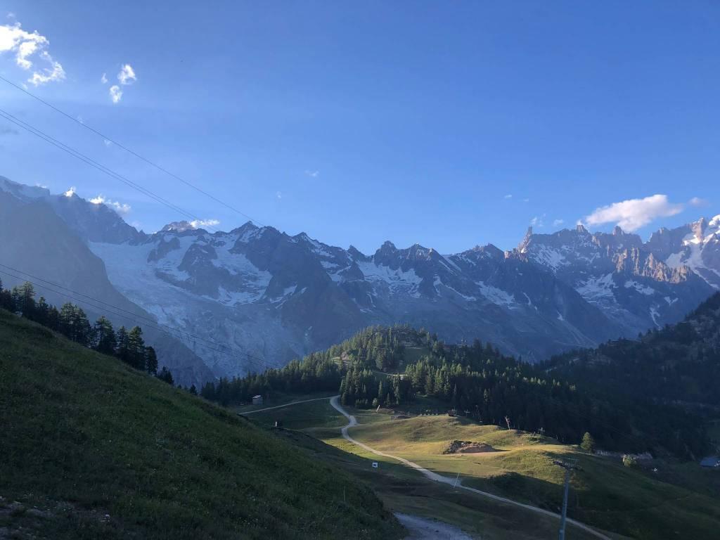 Chalet di nuova realizzazione sulle piste da sci di Courmayeur