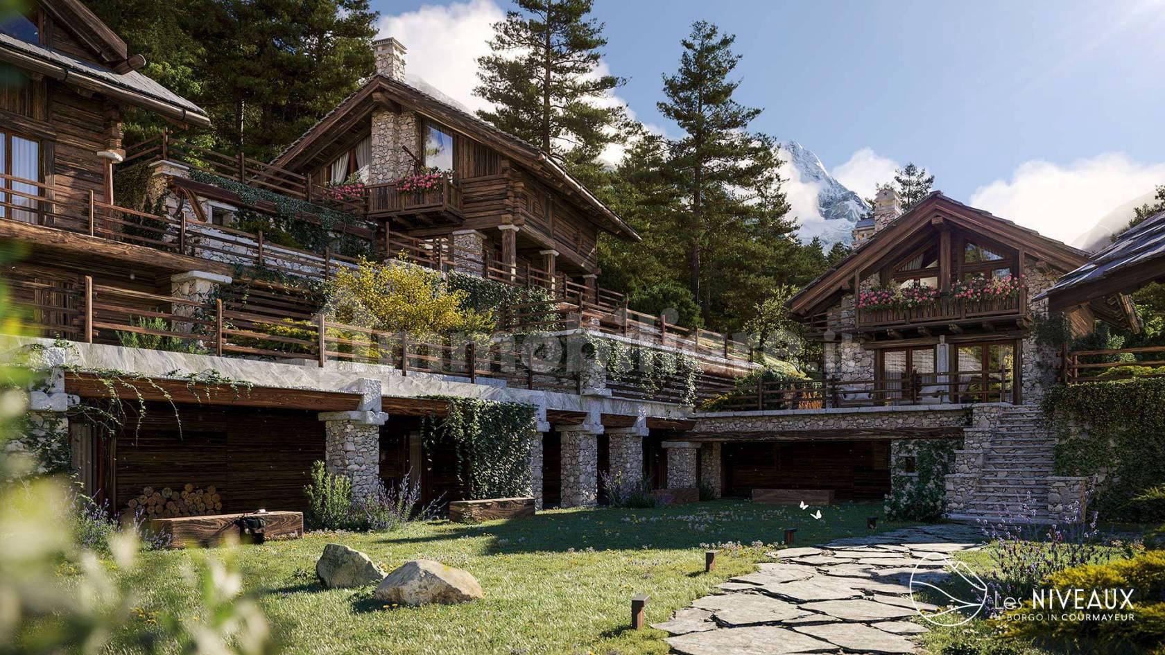 Villa unifamiliare Strada La Palud, Courmayeur